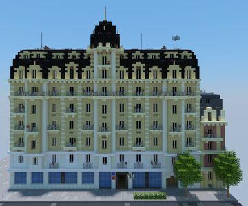 Haussmannian building Minecraft Map & Project