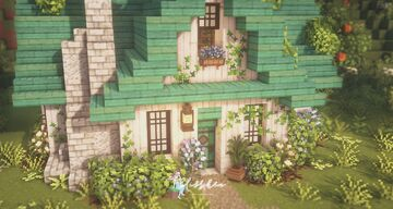 Beekeeper's Cottage & Apiary 🍯🌿 Minecraft Map & Project