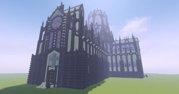 Cathedral of the Golden Voices Minecraft Map & Project