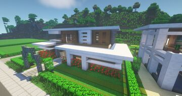 Modern House with basement (NLC BUILD) #10 - By ArcturusPhoenix Minecraft Map & Project