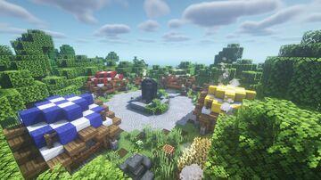 Minecraft Villagers Market Minecraft Map & Project