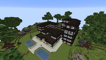 My House on Potterworld MC Minecraft Map & Project