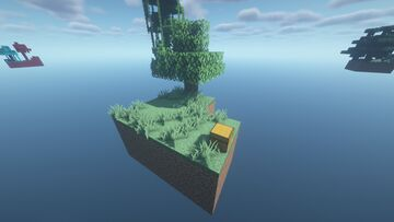 Sky Block 2.0 and 1.0 Minecraft Map & Project