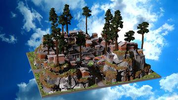 SPAWN HCF - CITY Minecraft Map & Project