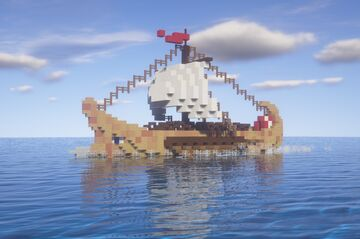 Hellenic Galley Minecraft Map & Project