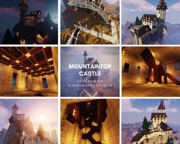 OPAL's Mountaintop Castle Minecraft Map & Project