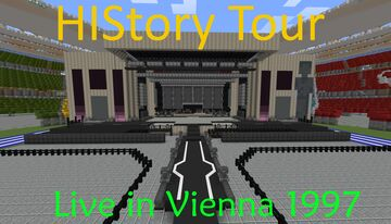 HIStory Tour Live In Vienna 1997 // Minecraft 1.16.3 Minecraft Map & Project