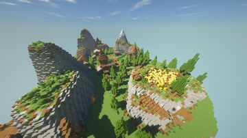 Medieval Nature Village Minecraft Map & Project