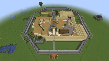 Zelda - Majora's Mask Clock Town Minecraft Map & Project