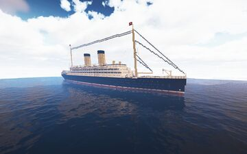 RMS Empress of Whiteburg Minecraft Map & Project