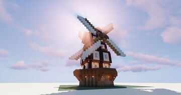 Dual Windmill Minecraft Map & Project
