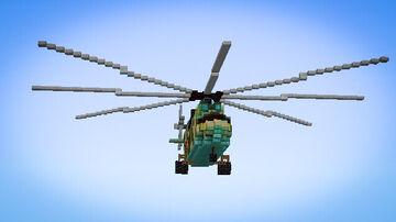 Mi-26 Halo Minecraft Map & Project
