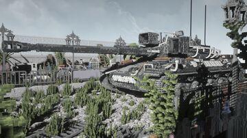 BUILD | TANK | FRANCE | AMX-30 | MEDIUM | CHISELS AND BITS - Tiny blocks Minecraft Map & Project