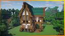 ⚒️ Minecraft: Stylish Medieval House Minecraft Map & Project