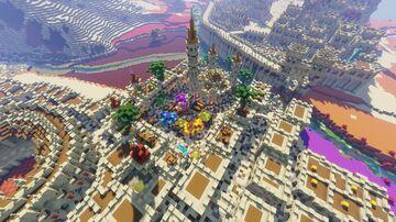 Arabic Bazaar/Market + Mosque - Al-Kazar Minecraft Map & Project