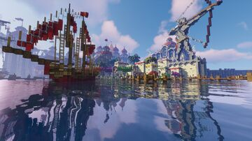 Adharra - A desert city with a large palace Minecraft Map & Project