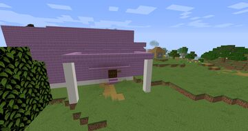 Purpur resort and hotel Minecraft Map & Project