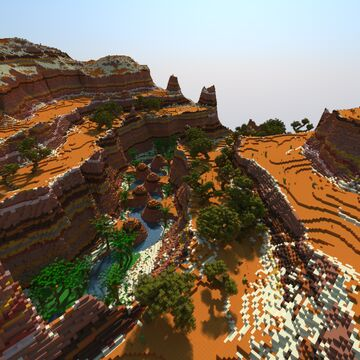canyon Minecraft Map & Project