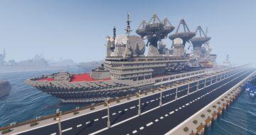 Soviet Tracking, Spy ship Minecraft Map & Project