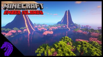 The Ember Islands | Tropical Survival Map Minecraft Map & Project