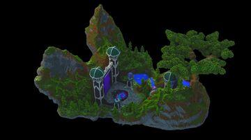 Dimension Hub Build Minecraft Map & Project