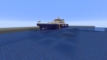 Custom Police Boat Minecraft Map & Project