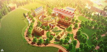 Farm Racers | Client Work/Collaboration With 57Digital Minecraft Map & Project