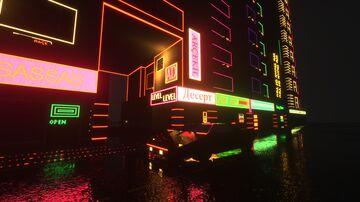 Little Tiles Cyberpunk city showcase 2(video link) Minecraft Map & Project