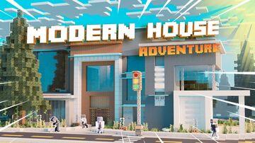 Modern house ✓ Adventure Minecraft Map & Project