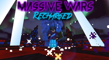 Massive Wars - [Recharged] -  Stylish hyper-powered PvP (PvP with flashing super powers) Minecraft Map & Project