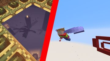 Immersive Portals Elytra Parkour (requires the immersive Portals Mod for forge) Minecraft Map & Project