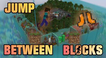 Jump Between Blocks Minecraft Map & Project