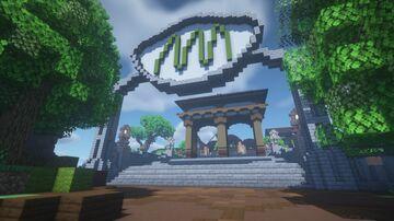 BCRAFT NARUTO | HIDDEN GRASS Minecraft Map & Project