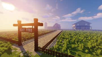 Kent's Farm (Smallville) - DC Comics Minecraft Map & Project