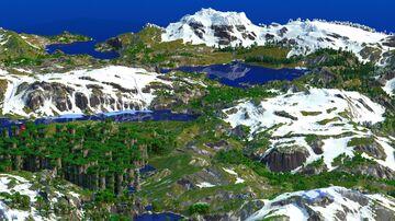 Vissgeon - The Highlands (Download, 4k, 1.16+,  Java & Bedrock, Realistic Minecraft Survival World) Minecraft Map & Project