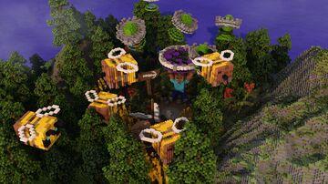NLO FARM HUB/LOBBY Minecraft Map & Project