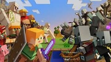 Hero's Of The Village Minecraft Map & Project