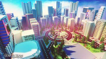 Modern City Spawn Minecraft Map & Project
