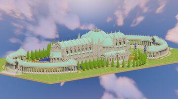 The Great Olivia Library Minecraft Map & Project