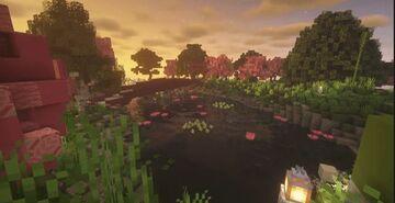 asian garden. Minecraft Map & Project