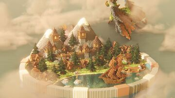 KitPVP Map | Medieval Castle Minecraft Map & Project