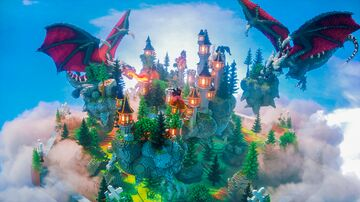 Dragon SkyBlock Spawn Minecraft Map & Project