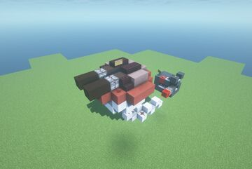 SMT  -  Adjustable Trajectory TNT Cannon ( Twin Shot | Turret | Movecraft Compatible ) Minecraft Map & Project