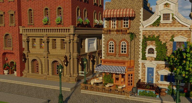 Bank & Cafe