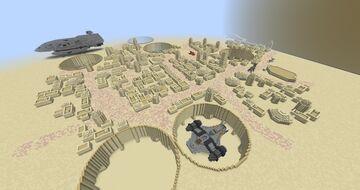 Star Wars: Tatooine Adventure Map Minecraft Map & Project