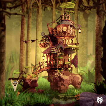 Beautiful Fantasy House (Download) Minecraft Map & Project