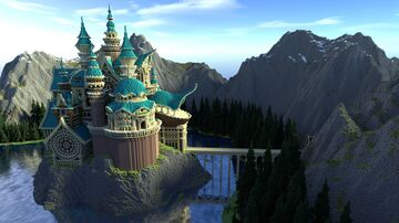 Christorica Fantasy Castle Minecraft Map & Project