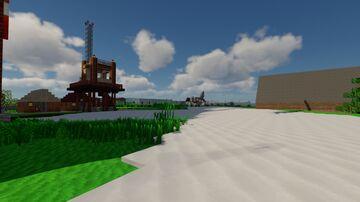 ISLA FAIR  (a medio camino entre las Shetland y las Orcadas) - RECREACIÓN LIBRE Minecraft Map & Project