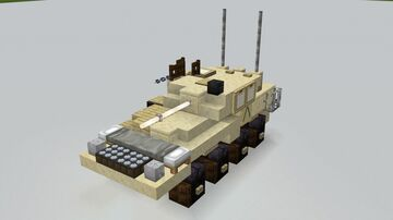 LAV-25 1.5:1 Minecraft Map & Project