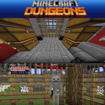 Dungeons Super Map Minecraft Map & Project